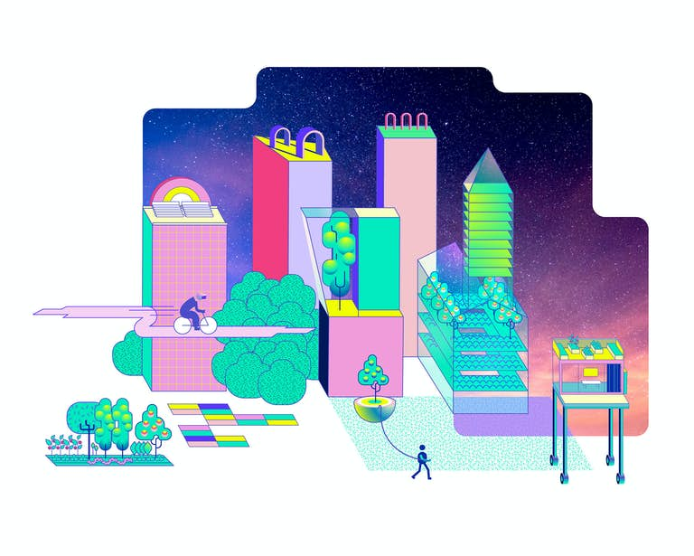 The CITY web