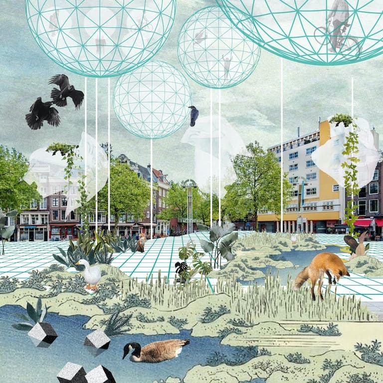 WEB 9 Scenario with Laputas Nieuwmarkt