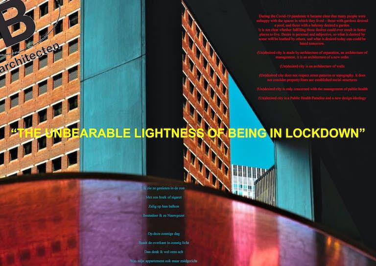 WEB B architecten Unbearable Lockdown